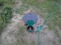 Studnia z przygotowanym przyłączem do węża ogrodowego 3/4''