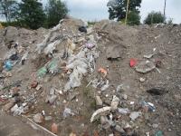 Odpady wydobyte z wykopu fundamentowego