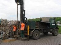 Badania geotechniczne na terenie czynnego składowiska odpadów
