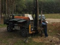 Wiercenie studni głębinowej o średnicy 110 mm